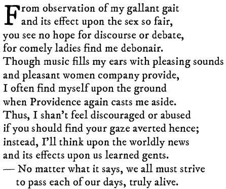 Mystery sonnet