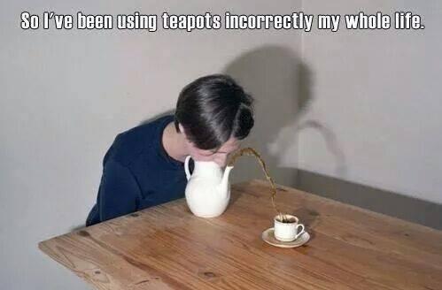 How to pour tea