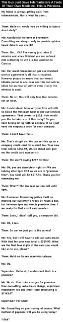 How to deal with telemarketers