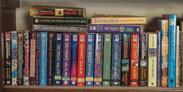 The Pratchett shelf
