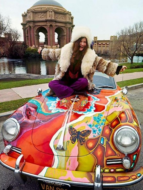 Porsche (Janis not included)
