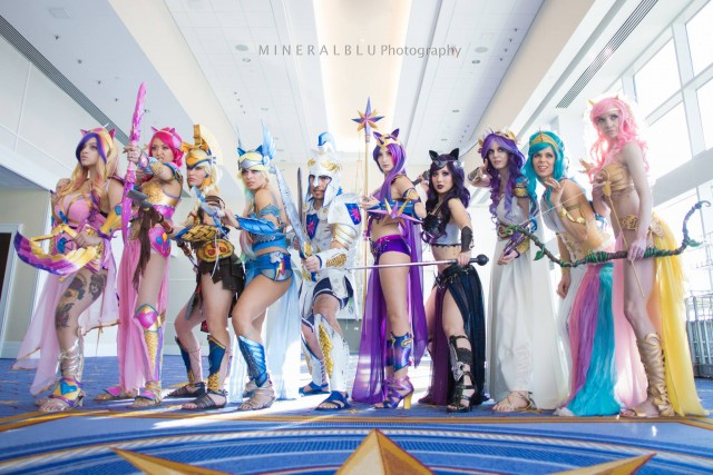 Warrior princesses of Equestria, and one other